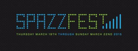 Spazz Fest VI Logo by Todd Cook