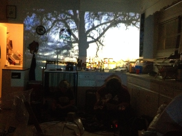 Lost Trail with kitchen projections.